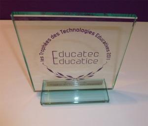 Mention spéciale des Trophées des Technologies Éducatives 2011 pour MarkUs