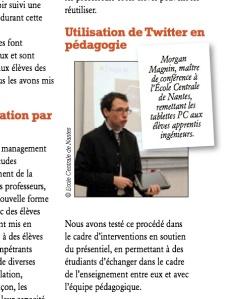 Aperçu de l'article publié dans le numéro de décembre du Journal des Grandes Écoles
