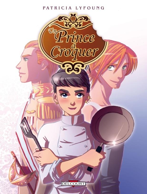Couverture du tome 1 d'Un Prince à Croquer de Patricia Lyfoung