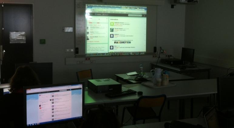 Formation sur Twitter dans le cadre du Printemps d'UNIT