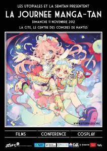Affiche de la Journée Manga-tan 2012