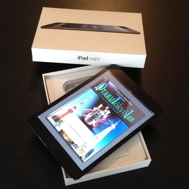 Déballage de l'iPad Mini