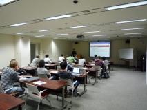 """Jour 7, jeudi 21 mars 2013 : première conférence """"Lecture Series"""" au NII"""