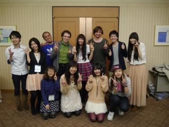 Jour 10, dimanche 24 mars 2013 : initiation au doublage d'anime