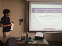 Hidetomo Nabeshima was chairing my Invited talk at Yamanashi University. Thanks to him!