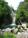 Sengataki Falls in the area of Yamanshi