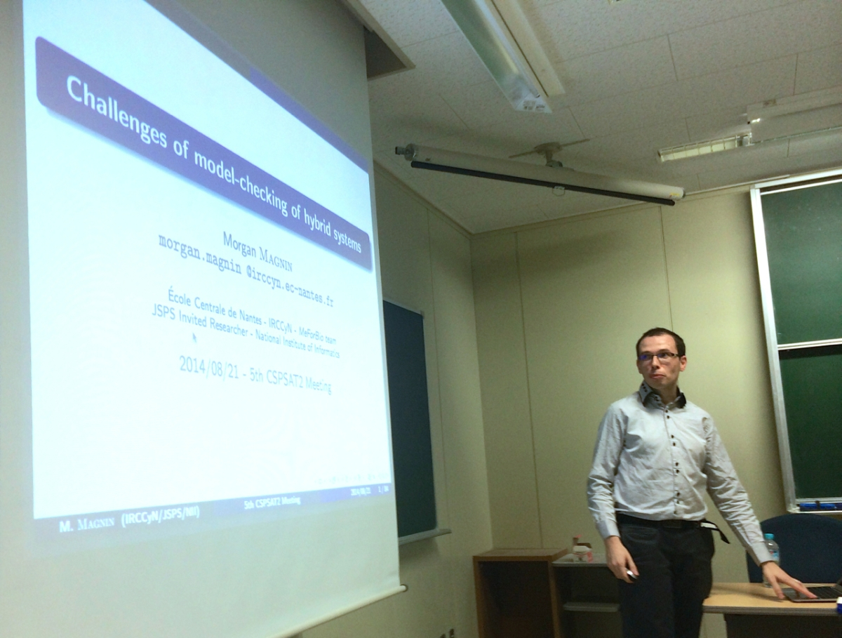 Invited talk at CSPSAT2 meeting at Kobe University