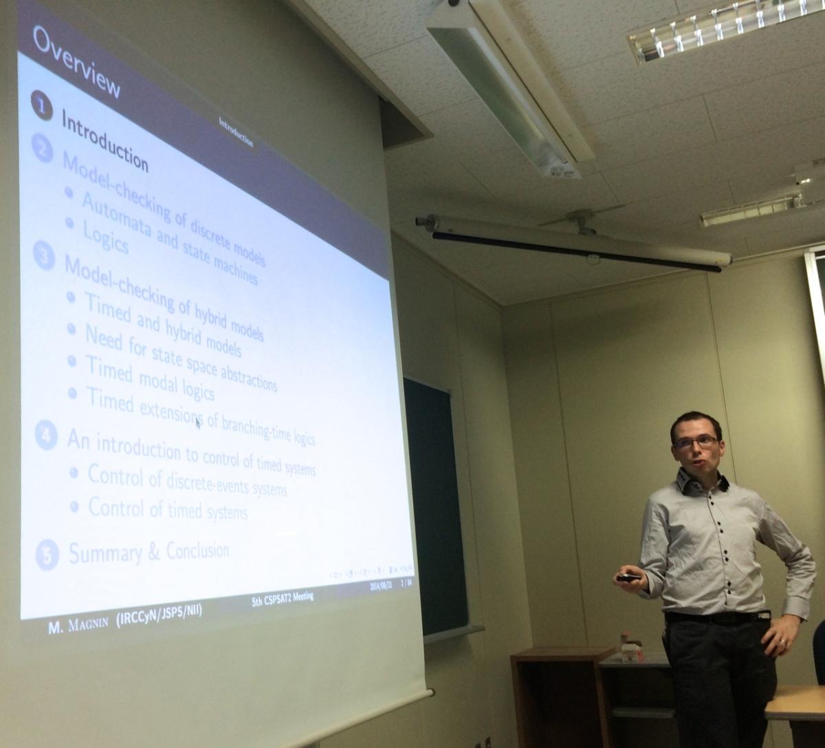 Invited talk at CSPSAT2 meeting at Kobe University