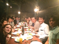 CSPSAT2 Social Event at a good Italian restaurant