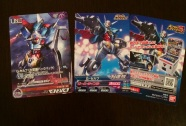 The Gundam Reconguista in G cards that are given with the cinema tickets during the 1st week of screenings. Goodies for the 2nd week differ.