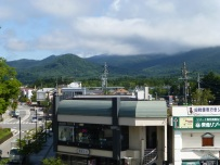 Global view on Karuizawa, which is a small city in the mountains in the center of Japan. It seems much appreciated by rich people, who have some second home there.