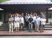 All the researchers who attended the 2014 workshop of Systems Resilience Project
